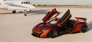 McLaren P1 with Jet Car Cleaning Services Phoenix