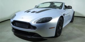 Aston Martin White Window Tinting Phoenix