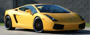 Lambo Gallardo Yellow Rock Chip Repair