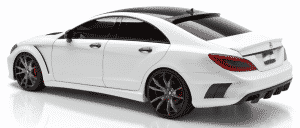 Mercedes-CLS-Wide-Body-Kit windoe tinting