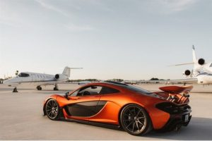 P1 McLaren with Gulfstream