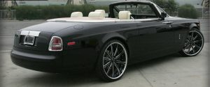 Rolls Royce Drop Top Black Auto Detailing