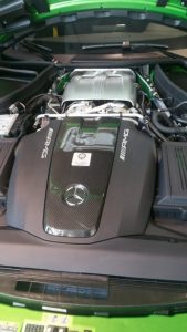 Bi Turbo Engine detailing Mercedes AMG - Car Detailing Phx AZ